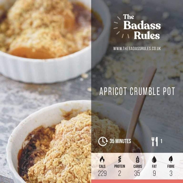 Apricot crumble 1