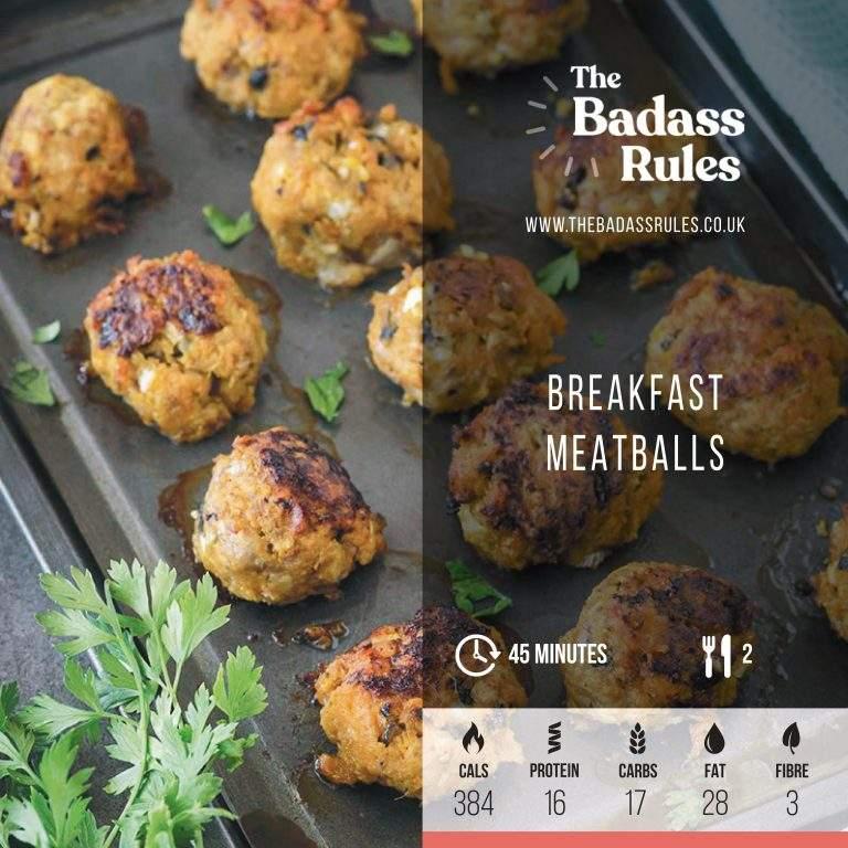 Breakfast Meatballs 1