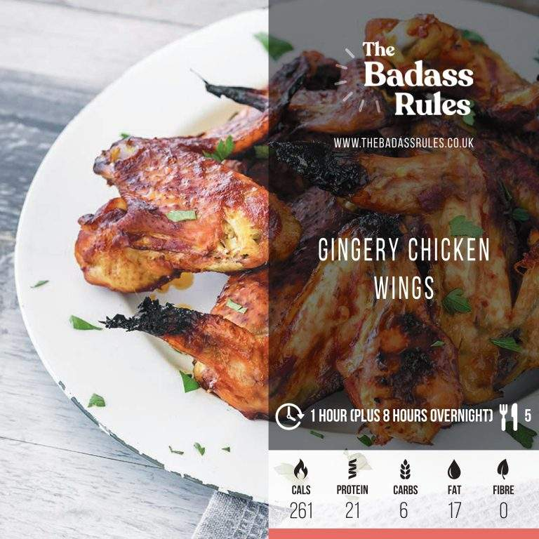 Gingery Chicken Wings