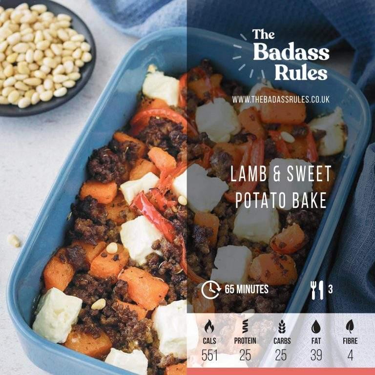 Lamb Sweet Potato bake