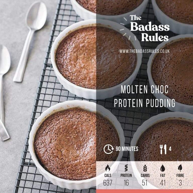 Molten Choc Protein Pudding