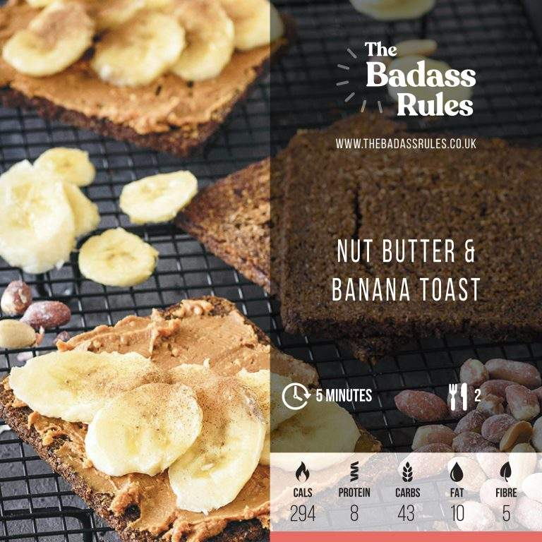 Nut Butter and Banana Toast
