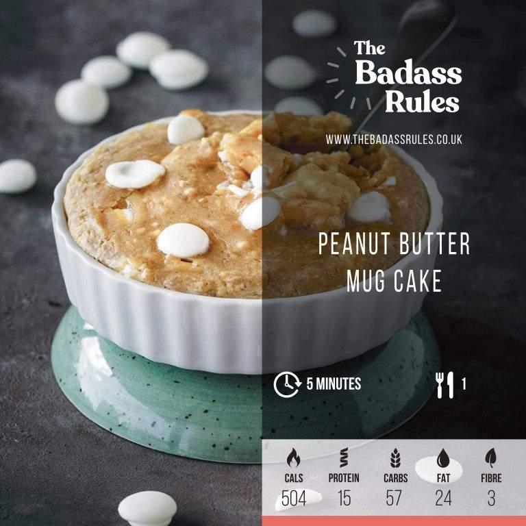 Peanut Butter Mug Cake