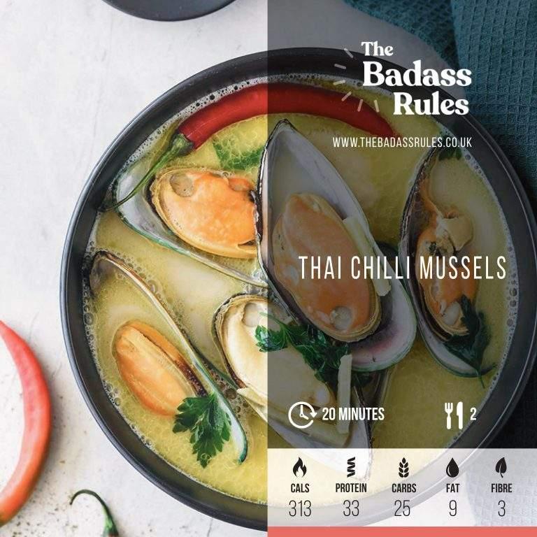 Thai Chilli Mussels